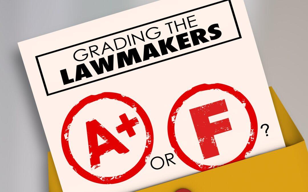 grading lawmakers